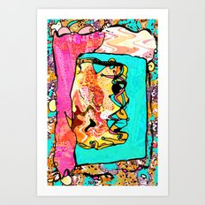 Capriciously Art Print