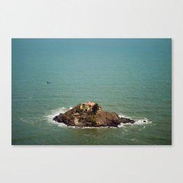 Monastery, on the Rocks Canvas Print