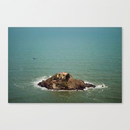 Monastery, on the Rocks Canvas Print