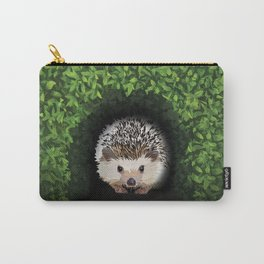 Little Hedgehog in the Hedge Carry-All Pouch