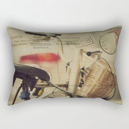 I just want to ride my bike today Rectangular Pillow