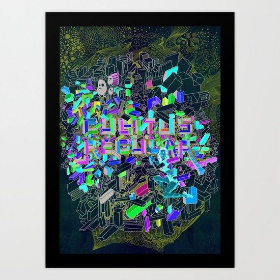 cubus Art Print