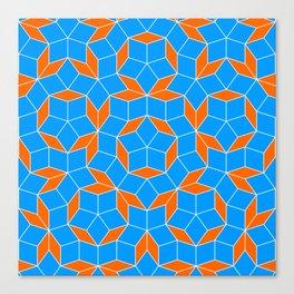 Penrose Tiling Pattern Canvas Print