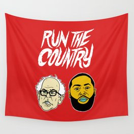 Run The Country Wall Tapestry