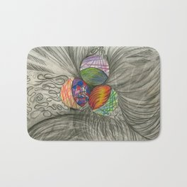 Draw What You Think Bath Mat