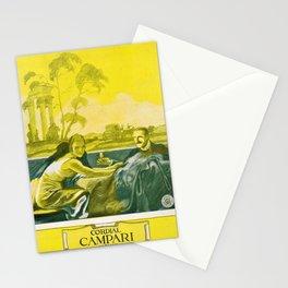 Vintage Cordial Campari Liquor Marcello Dudovich Poster Stationery Cards