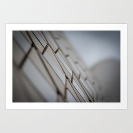 Sydney Opera House Tile Detail Art Print