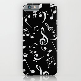 Musical Notes 20 iPhone Case