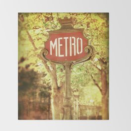 METRO2 Throw Blanket