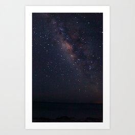 Milky Waaaaaayyyyy Art Print