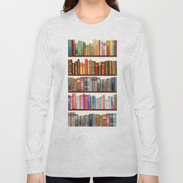 Jane Austen Vintage Book collection Long Sleeve T-shirt