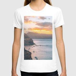 Sunset sea T-shirt