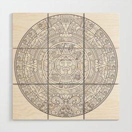Sun Stone Wood Wall Art