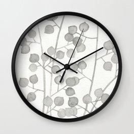 Plant Pattern #3 Wall Clock
