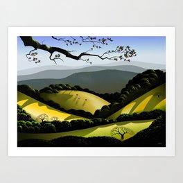 East Hills Art Print