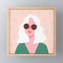 Stay Strong Framed Mini Art Print