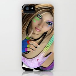 Some 80s Love iPhone Case
