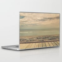 boardwalk empire Laptop & iPad Skins featuring Boardwalk by Marc Daly