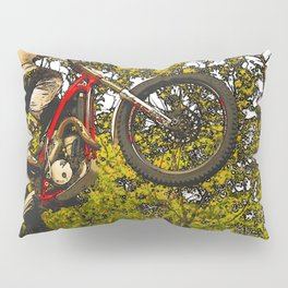 Airtime - Dirt-bike Racer Pillow Sham