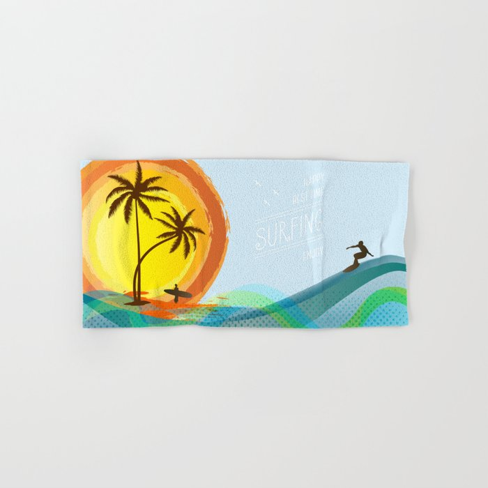 Enjoy summer Hand & Bath Towel