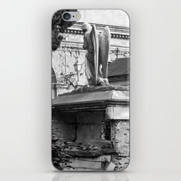 ancient angel on the memorial iPhone Skin