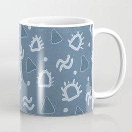 marfa, indigo shibori Coffee Mug