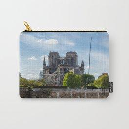 Notre Dame de Paris after the fire Carry-All Pouch