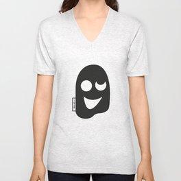 trippy mask Unisex V-Neck
