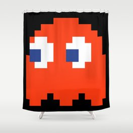 8-Bits & Pieces - Blinky Shower Curtain