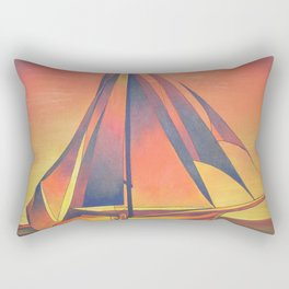 Sienna Sails at Sunset Rectangular Pillow