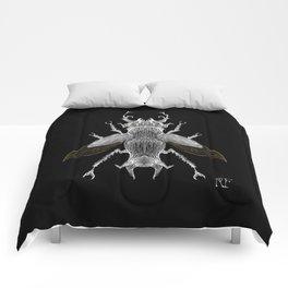 Beetle #1 Comforters