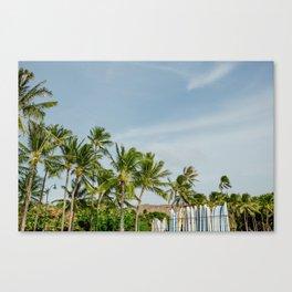 Waikiki Beach III Canvas Print