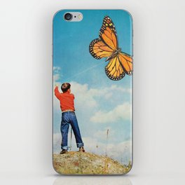 The nonflying monarca iPhone Skin