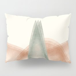 Triangle Tree Pillow Sham