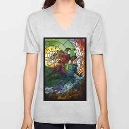 Korrasami - Fighting Duo Unisex V-Neck