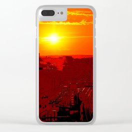 Distant Clear iPhone Case