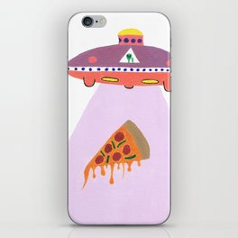 Pizza Alien iPhone Skin