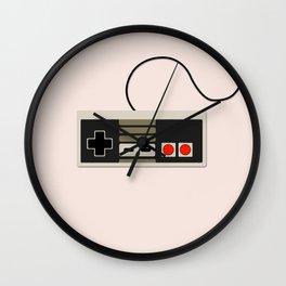 Old School Nintendo Wall Clock