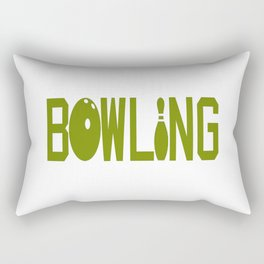 BOWLING Rectangular Pillow