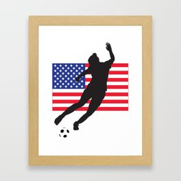 United States of America - WWC Framed Art Print
