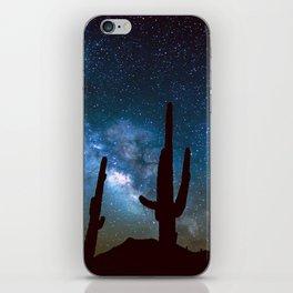 Milky Way Cacti iPhone Skin