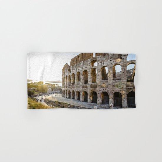 The Colosseum of Rome Hand & Bath Towel