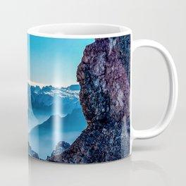 Moutain sky ice blue Coffee Mug