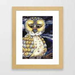Wise Old Owl Framed Art Print