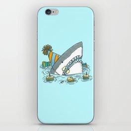 Birthday Shark II iPhone Skin