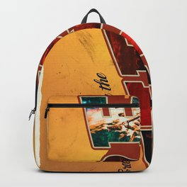 Retro Greetings Postcard (Fire Nation) Backpack