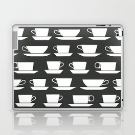 Pattern of Coffee and Tea Cups Laptop & iPad Skin