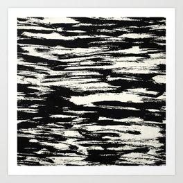 Brush Stripe 2 Art Print