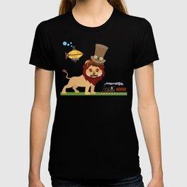 Steampunk Lion T-shirt
