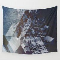 san francisco Wall Tapestries featuring San Francisco by Herwig Scherabon